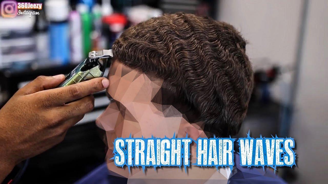 HAIRCUT TUTORIAL AMAZING STRAIGHT HAIR 360 WAVER TAPER