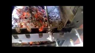 Repeat youtube video Μηχανισμός  για  γύρισμα σούβλας με αλυσίδα και μοτέρ υαλοκαθαριστήρα