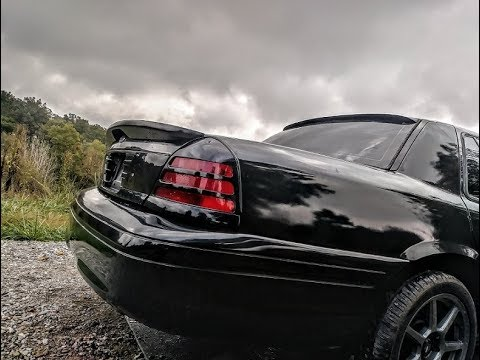 Roof Spoiler Lip Installed On My Crown Victoria P71 Youtube