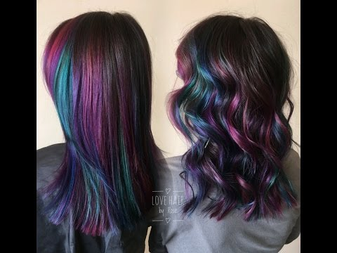 Jewel Toned Hair using Pulp Riot ❤️