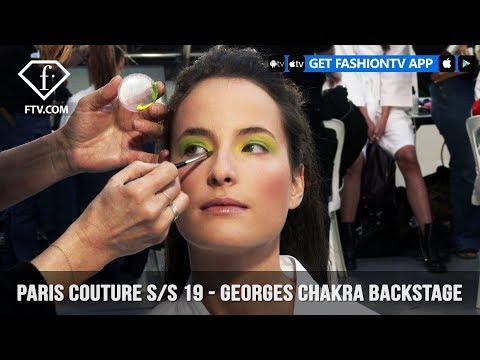 Georges Chakra Backstage Paris Couture Spring/Summer 2019 | FashionTV | FTV