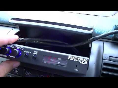 AudioControl EPICENTER In Dash