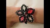 bracelet hibiscus rainbow loom® tutoriel français (niveau débutant