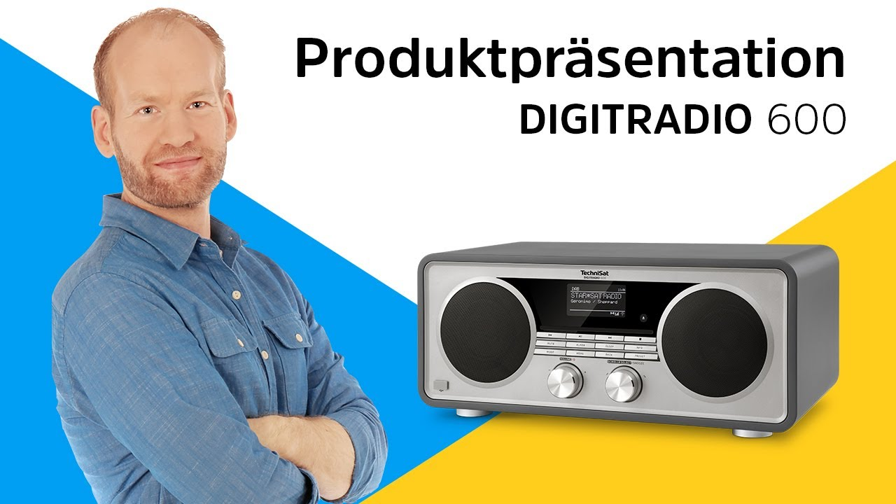 Video: DIGITRADIO 600  | Der Allrounder unter den Digitalradios. | TechniSat