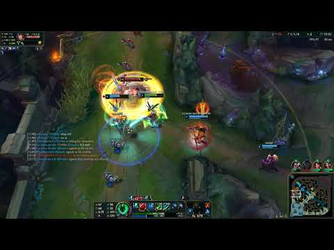 Thresh And Draven Vs Wanna Be ADC Main And Leona League Of Legends