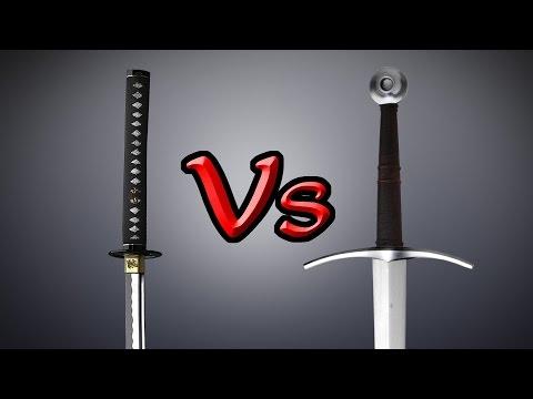 The ultimate KATANA vs LONGSWORD analysis