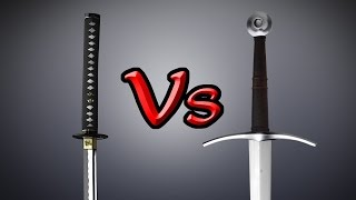 The ultimate KATANA vs LONGSWORD analysis