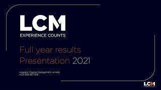 Litigation Capital Management (LIT) full year 2021 results presentation September 2021