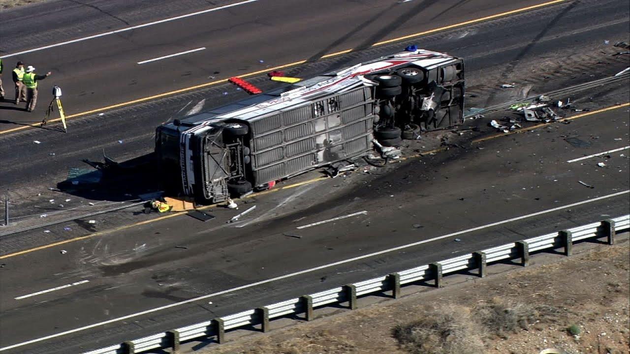 Police Investigate Deadly New Mexico Bus Crash