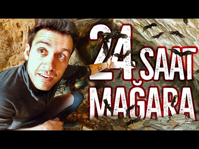 24 SAAT TEHLİKELİ MAĞARADA MAHSUR KALMAK!