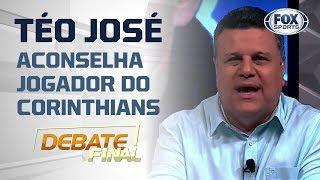 """""""PEGA SUA MALA E VAI EMBORA!"""" Téo José aconselha jogador do Corinthians"""
