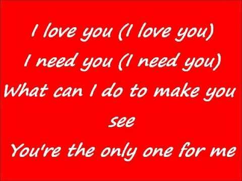 Faith Evans I Love You Lyrics