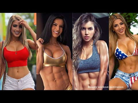Female Fitness Motivation | Bikini body workout | Strong and Sexy bikini model 2020 | women workout