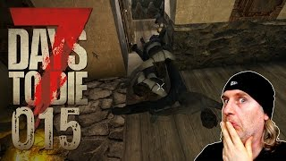 7 Days to Die [015] [Von Zombies überrannt] Let's Play Gameplay Deutsch German thumbnail