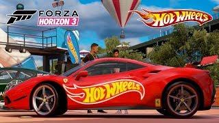 Forza Horizon 3 HOT WHEELS - COLOQUEI MINHA FERRARI NO HOT WHEELS??? - #03