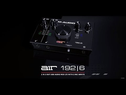 Introducing the M-Audio AIR 192|6