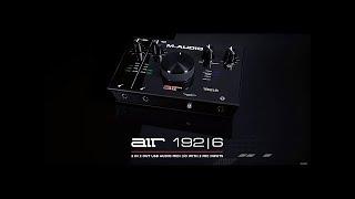 Video: Scheda Audio Usb M-audio Air 192-6