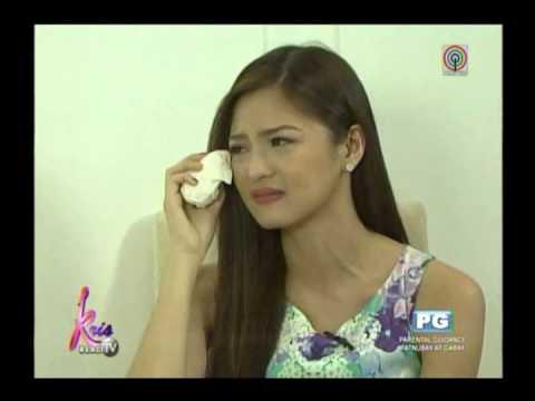 Kris TV: Emotional Kim recalls incident with reporter