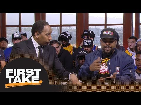 Stephen A. Smith And Ice Cube Debate LeBron James Joining The Lakers | First Take | ESPN