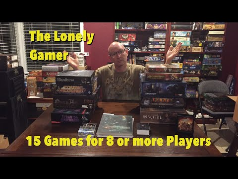 Board Games for 8 or more players