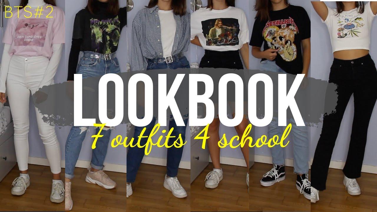 BTS#2 LOOKBOOK 7 OUTFITS 4 SCHOOL 2