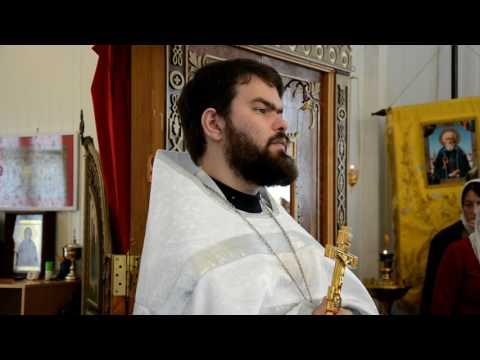 Проповедь на димитривскую субботу