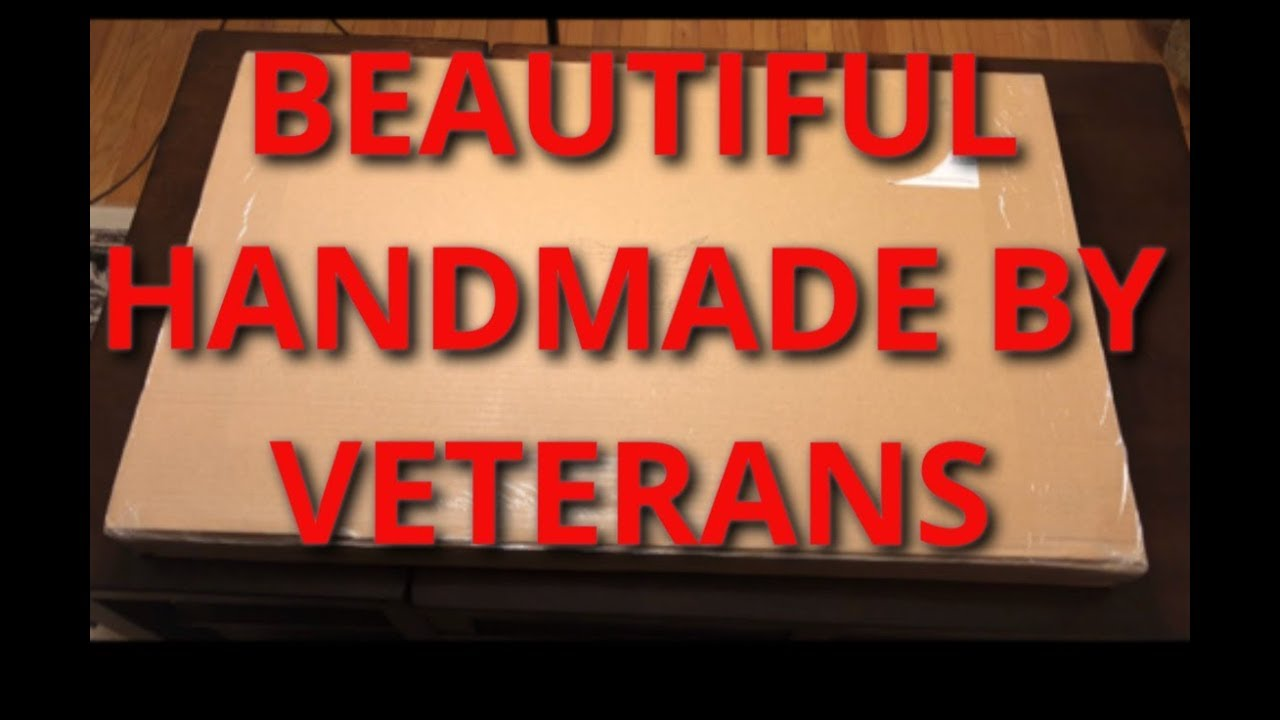 Rustic Flag Arrived Handmade By USA Veterans AMAZING