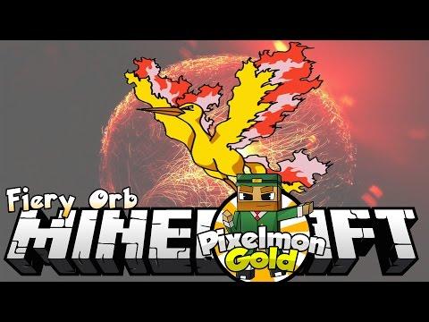 Minecraft Pixelmon Gold #54 'Fiery Orb'