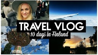 TRAVEL VLOG: 10 days in Finland
