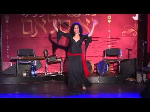 דינה סנדרוב Dina Senderov Ya Salam Festival Belly Dance 2012