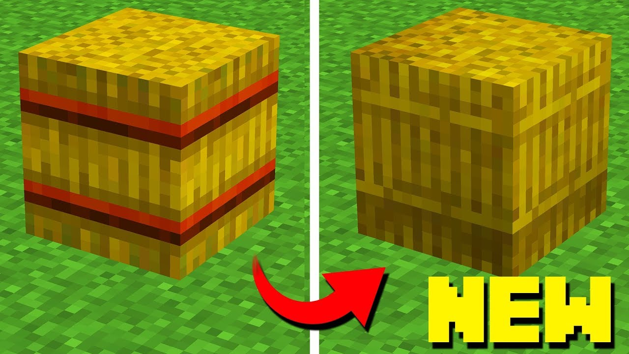 New Official Minecraft Texture Update 1 13 1 14 Youtube