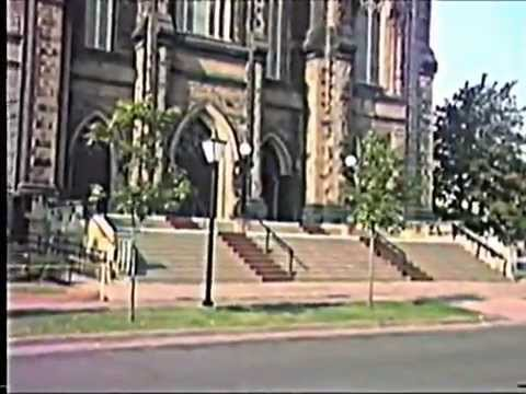 Downtown Charlottetown Prince Edward Island Canada In 1988