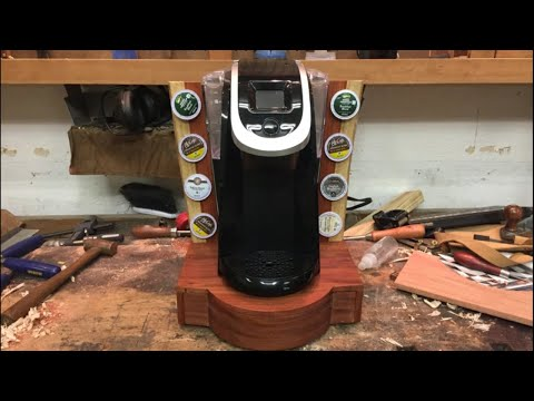 Keurig stand with K-cup storage ep7