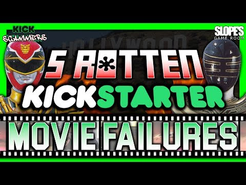 5 Rotten Kickstarter Movie Failures! - SGR