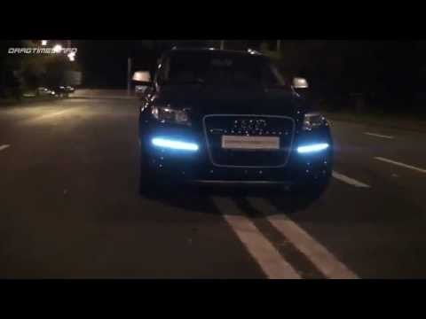 Audi Q7 V12 . WiLD At NiGhT.