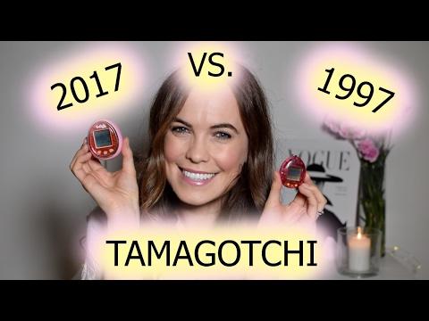 1997 Tamagotchi Vs. 2017 Tamagotchi | Unboxing & Comparison | Megan Taylor