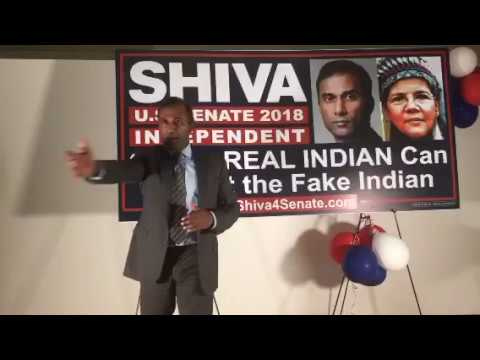 Shiva4Senate VICTORY SPEECH!