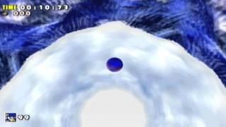 sonic adventure dx speedrun ice cap in 0 10 73 as sonic