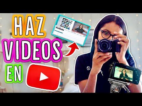 CÓMO GRABAR/EDITAR VIDEOS + Tips de YOUTUBERS! | Michmoon