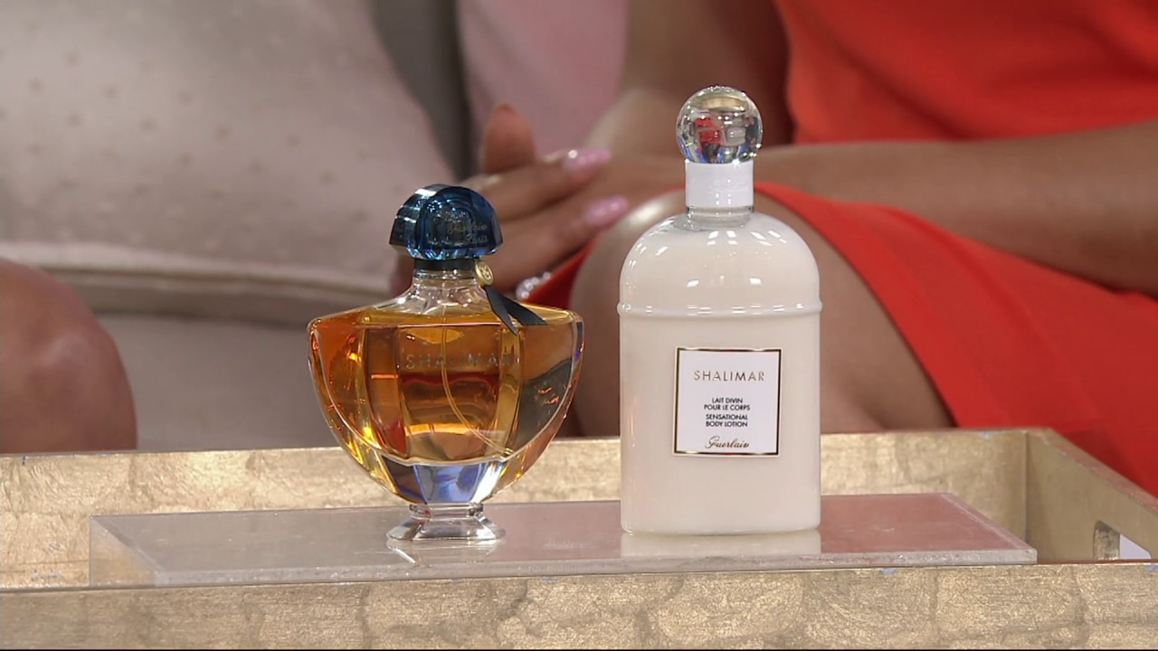 Guerlain Shalimar Eau De Parfum And Body Lotion Layering Duo On Qvc