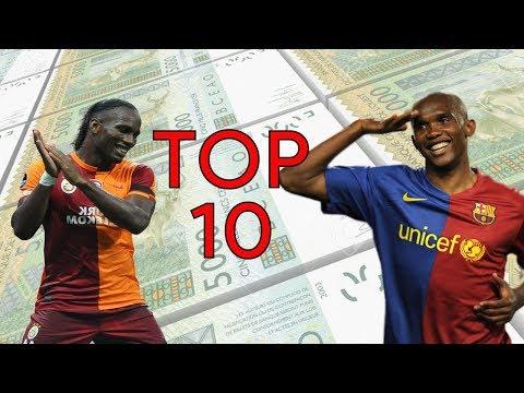 Les 10 Footballeurs Africains Les Plus Riches De Tous Les Temps