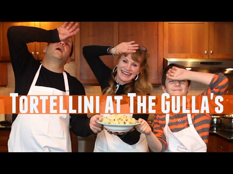 Tortellini at The Gulla's - Show 94 - Homemade Pasta Stuffed with Sun-dried Tomato & Mozzarella