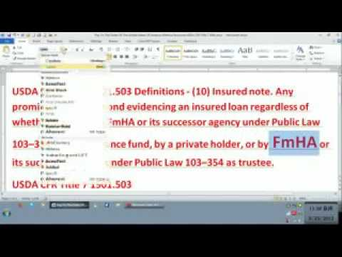 4 01 12  How to Pay off Mortgage without spending a Dime the real A4V1 flv