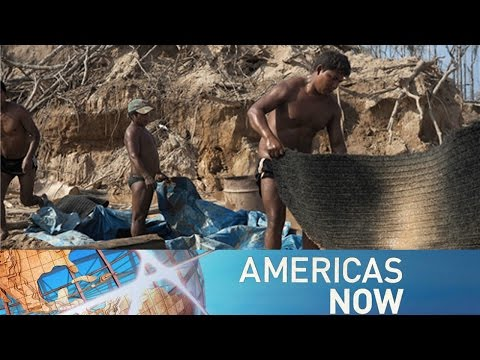 Americas Now— Time is dust: Peru's illegal gold mining 03/07