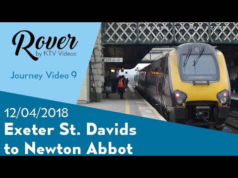 Exeter St Davids To Newton Abbot Journey Video Youtube