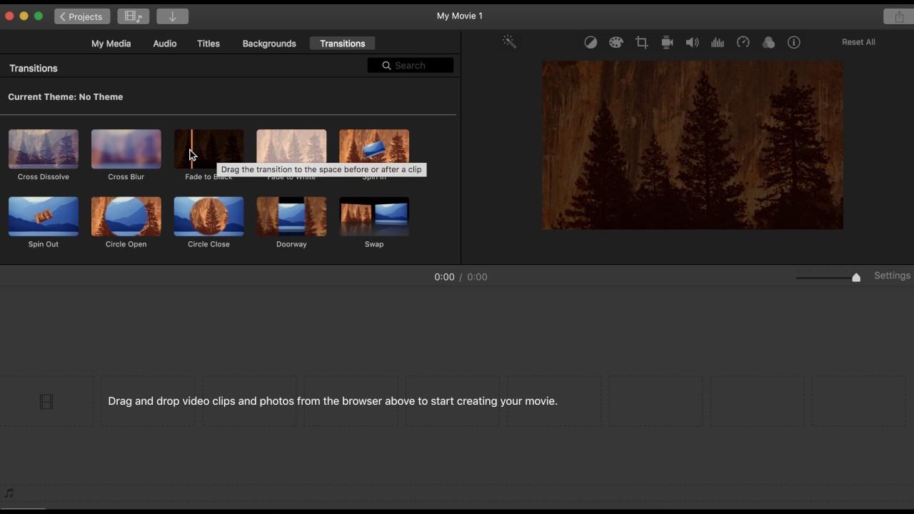 Toolbars- iMovie - YouTube
