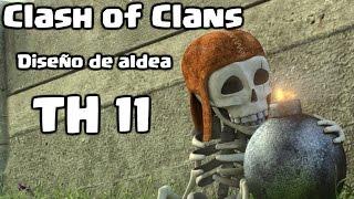 Clash of Clans - Diseño de ayuntamiento 10.5 o ayuntamiento 11