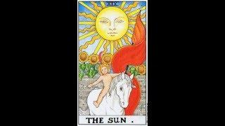 Урок 20 - старший аркан Солнце