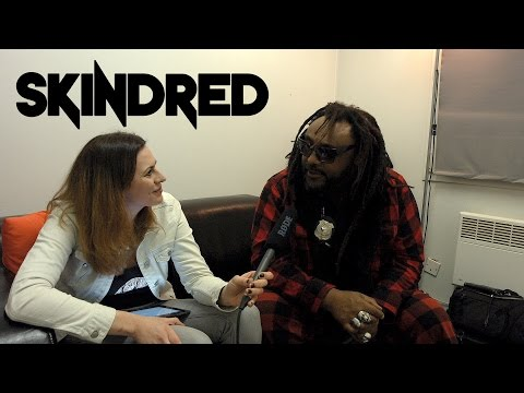"""INTERVIEW   10 questions with """"SKINDRED"""""""