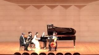 2015/12/24 2年ぶりのピアノトリオ。Bosendorferで弾けたのはいい経験で...